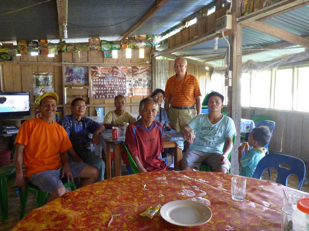Kampung Tibabar, Ranau ( Nov 2016) - Introducing MyCare and CHE ( Community Health Education ) to community leaders.