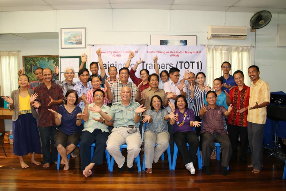 Wow ! We are so happy to have completed the CHE training of trainers 1. And ready to begin our mission to share the Community health development strategy with our target communities. The first Vision seminar to be conducted by alumni members will be in Kampung Tibabar today.